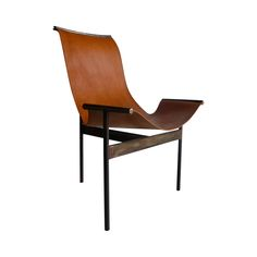 Buy Leather Tobatí  Sling Chair by Cudesso - Made-to-Order designer Furniture from Dering Hall's collection of Contemporary Industrial Transitional Chairs.