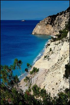 Egremni, Greece Copyright: Kamila Zadora
