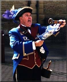 Les Cutts, Halifax Town Crier, is a fantastic man & does a great deal to promote the town. He supports so many charities & gives up his time for such great causes
