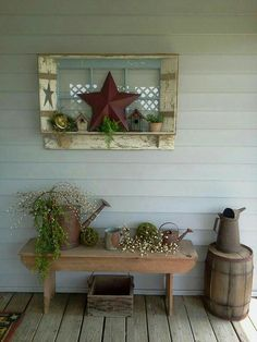 Adorable front porch!