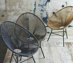 parecidaa la silla Acapulco