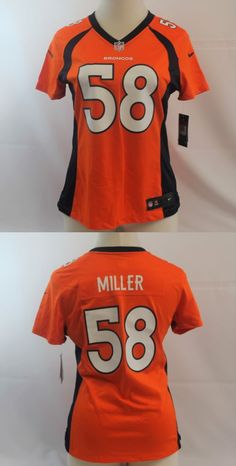 Shirts Tops 50990: Nike Von Miller Denver Broncos Womens Jersey 469898-829 Size Xxl $95 -> BUY IT NOW ONLY: $67.99 on eBay!