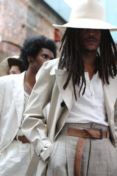 Locs :: Buy natural hair accessories at DreadStop. Locs :: Buy natural hair accessories from DreadStop. Natural Hair Accessories, Natural Hair Styles, Sharp Dressed Man, Well Dressed, Black Boys, Black Men, Dreads, Style Afro, Pose