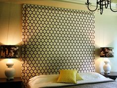 build+your+own+headboard | 20 Ideas for Making Your Own Headboard