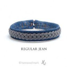 Bracelet Regular - Jean brut ou délavé