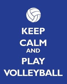 Volleyball forever!!!!! :)