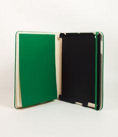 Moleskine Cover for iPad 3 & 4 - Green