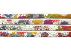 Liberty fabric bias binding 1x Yard of Small Susanna C