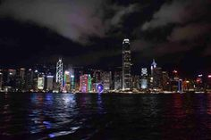 What to do in Hong Kong - Star Ferry Night Tour Symphony of Kights