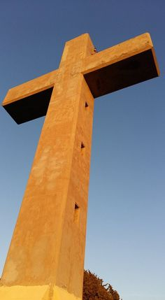 The Beautiful Cross Of Filerimos Shining Gold In The Amazing Sun Public Holidays, Greece Holiday, Greek Culture, Rhodes, Tourism, Greece Travel, Crosses, Sunlight, Beautiful