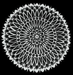 Mandala 2 Art Print by Shelley Swain | Society6