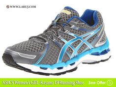 fa154126a The Asics Gel-Kayano 19 Women s Running shoe improves upon its predecessors  with an even better fit and support sytem. With structured cushioning and  ...