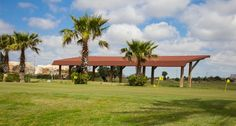 Zona de prácticas de Villanueva Golf