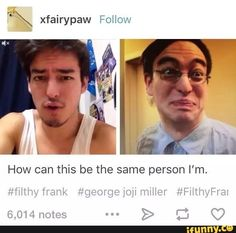 I THOUGHT JOJI WAS HIS BROTHER FOR A WHILE BUT NO