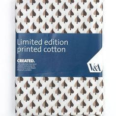 Leaf'' (Brown) V Quilting Fabric - Fat Quarter (50 x 75cm) love the colour scheme