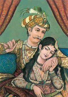 Emperor Akbar and the Amber Princess