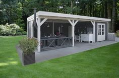 diy backyard shed Garden Shed Diy, Backyard Sheds, Outdoor Sheds, Backyard Retreat, Outdoor Rooms, Outdoor Living, Pergola Patio, Backyard Patio, Backyard Landscaping
