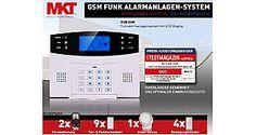 Multi-Kon-Trade GSM Hausalarmanlage-Set 4 schafft Sicherheit › Funkalarmanlage fürs Haus – schnell Sicherheit schaffen