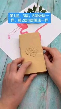 Cool Paper Crafts, Paper Crafts Origami, Diy Paper, Diy Crafts Hacks, Diy Crafts For Gifts, Creative Crafts, Creative Box, Creative Video, Instruções Origami