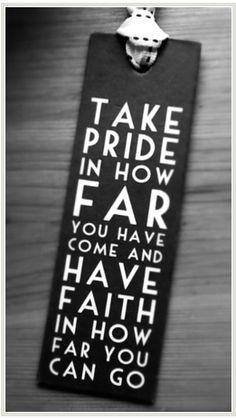 Faith unlocks the future.