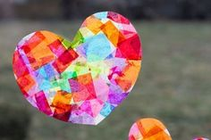 Heart-Themed Valentine Crafts for Kids