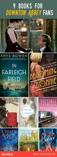 9 great history books for Downton Abbey fans. If you love historical fiction novels, add these great books to your 2017 reading list!