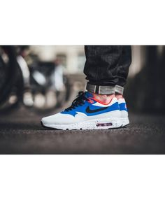 new product 0a11c 072ed (UN19F) Nike Air Max 1 Ultra Essential White Varsity Clearance