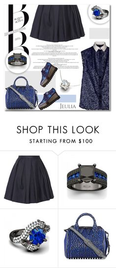 """NAVY B L U E"" by defivirda ❤ liked on Polyvore featuring Burberry, Alexander Wang, women's clothing, women, female, woman, misses and juniors"