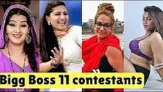 Everything You Want to Know About Bigboss 11 Contestant| Full List | 2017