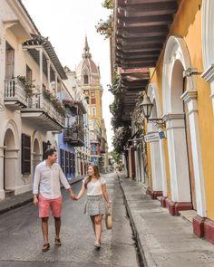 Los 10 lugares más fotogénicos de Cartagena - Peeking Places Boyfriend Photos, Future Boyfriend, Travel Pictures, Street View, Shirt Dress, Outfits, Picture Ideas, Selfies, Relationships