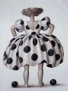 Il mondo di Mary Antony: Jeanne Lorioz Fat Art, Snow White, Black And White, Popular Art, Arte Pop, Fat Women, Alex Colville, Shades Of Black, Funny Art
