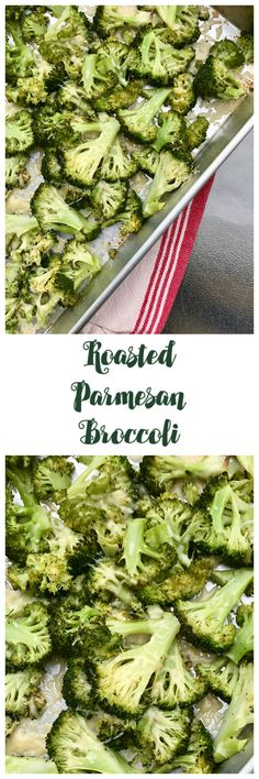 Roasted Parmesan Broccoli – Rumbly in my Tumbly Real Food Recipes, Diet Recipes, Vegetarian Recipes, Cooking Recipes, Healthy Recipes, Fruit Recipes, How To Cook Broccoli, Cooking Broccoli, Parmesan Broccoli