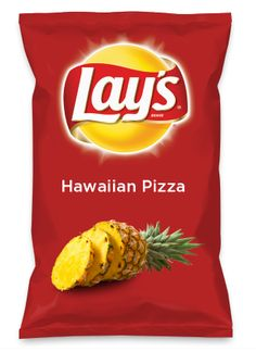 Wouldn't Hawaiian Pizza be yummy as a chip? Lay's Do Us A Flavor is back, and the search is on for the yummiest chip idea. Create one using your favorite flavors from around the country and you could win $1 million! https://www.dousaflavor.com See Rules.