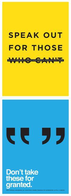 anti-censorship posters