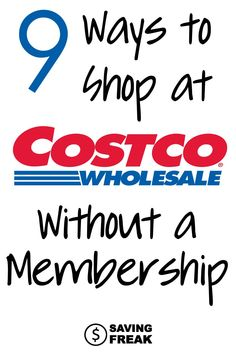Getting into Costco without a membership can seem pretty difficult. Use these nine strategies to shop at the warehouse club before dropping cash on the membership card. Save Money On Groceries, Ways To Save Money, Make More Money, Money Saving Tips, Money Tips, Warehouse Club, Frugal Living Tips, Financial Tips, Debt Payoff