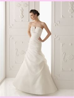 I don't necessarily like this dress, but I love the Organza and A Line