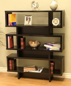 Look at this Tiered Display Cabinet & Bookcase on #zulily today!