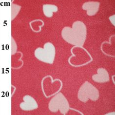 Loving Hearts Fleece Fabric Sew Over It Patterns, New Look Patterns, Sewing Patterns, Fabric Roses, Satin Fabric, Fleece Fabric, Christmas Fabric Crafts, Tilly And The Buttons, Bridal Fabric