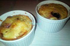 BUDINCA DE BRANZA DE CASA SI IAURT - Flaveur Mashed Potatoes, Macaroni And Cheese, Muffin, Pudding, Snacks, Breakfast, Health, Ethnic Recipes, Desserts