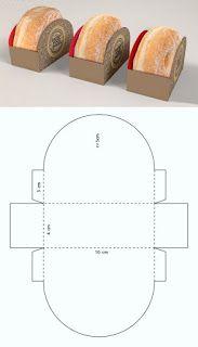 Lilac pyramid box for XV years memory - diy_crafts - กล่อง - Diy Gift Box, Diy Box, Gift Boxes, Bakery Packaging, Packaging Design, Salad Packaging, Gift Packaging, Diy Paper, Paper Crafts
