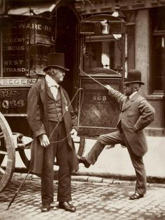 John Thomson, Omnibus Coachmen - 1876.  A skilled London coach-maker could earn up to 5 guineas (£5, 5 shillings) a week - considerably more than most middle class clerks. This was the top of the working class pyramid.