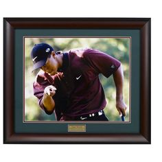 Tiger Woods Framed Photograph, Multicolor