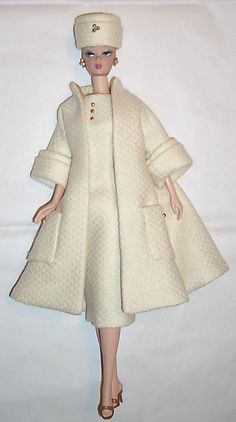 Coat and Dress Ensemble from Boguesvogues etsy