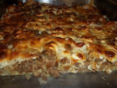 Πατσαβουροκιμαδόπιτα Food Network Recipes, Cooking Recipes, The Kitchen Food Network, Kitchen Time, Kitchen Stuff, Low Sodium Recipes, Bread And Pastries, Greek Recipes, Different Recipes