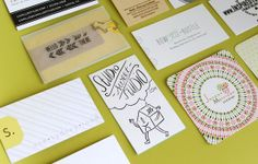 business cards inspiration from creatives