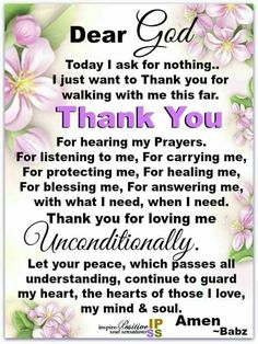 I just want to thank you for walking with me this far quotes god life good morning good morning quotes good morning images Prayer Scriptures, Bible Prayers, Faith Prayer, God Prayer, Prayer Of Praise, Prayer Poems, Novena Prayers, Angel Prayers, Catholic Prayers