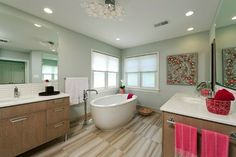 Chevy Chase Maryland Master Bathroom - modern - Spaces - Dc Metro - Cynthia Murphy