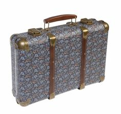 Vintage floral suitcase - iris | Wholesale Giftware, Gifts and Interior Decor | RJB Stone Ltd.