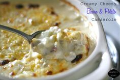 Creamy Cheesy Bacon & Potato Casserole