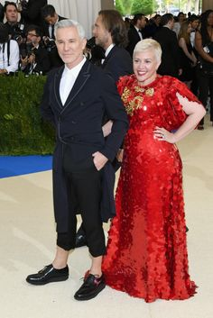 Baz Luhrmann and Catherine Martin. Photo:Dia Dipasupil/Getty Images
